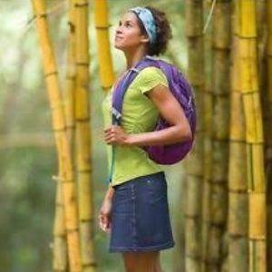 Athleta Bettona Hiking Travel Skort Size Small